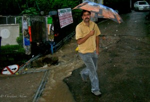 Monsoon Rain in Dharamsala India