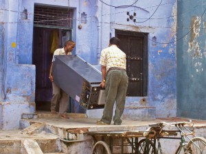 Moving Refrigerator in Agra