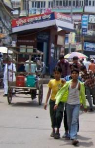 Boys in Old Delhi