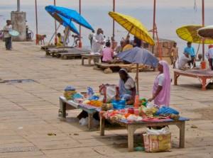 Women on Varanasi Ghat