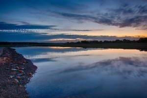 Channel Dawn Isabel lewando estuary