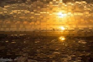 Fractured Sunrise Ogunquit Beach
