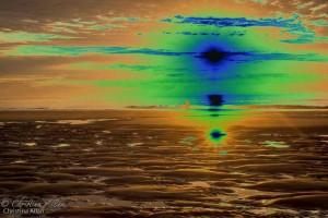 Solarized Sunrise Ogunquit Beach
