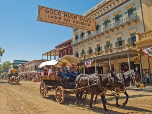 Gold Rush Days in Old Sacramento