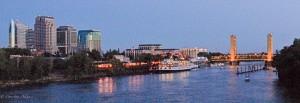 Panorama of Sacramento Waterfront