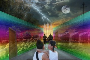 And the world needs us gay marriage collage mormon temple conformity rainbow hallway women invincible tattoo Sacramento Allan moon