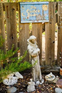 Canticle Garden Sign