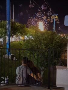 Seeing Fireworks