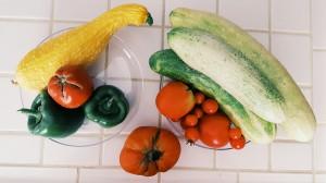 Summer veggies from the garden