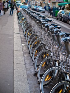 Electric Bicycles in Paris