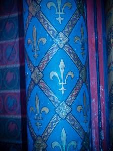 Fleur de Lis Detail at Sainte Chapelle