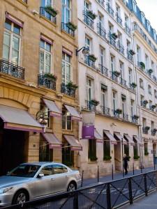 Paris' Hotel Castille Street