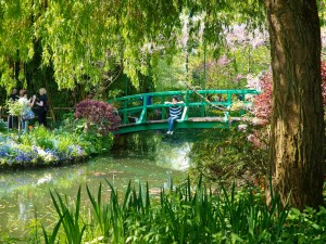 Monet's Japanese Bridge at Giverny
