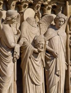 Saint Denis with Head, Notre Dame