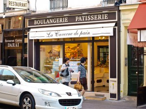 Neighborhood Boulangerie in Paris