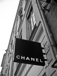 Paris Chanel Sign