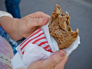 Street Crepe in Paris