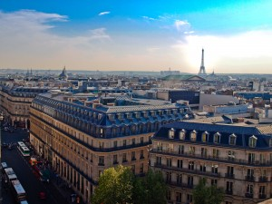 View of Paris from Galleries Lafayette