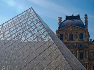 The Old and the New at the Louvre