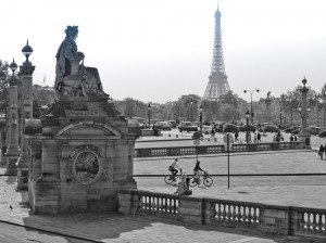 View Across the Place de Concorde