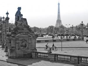 View Across the Place de Concorde