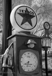 Retro Texaco Gas Pump