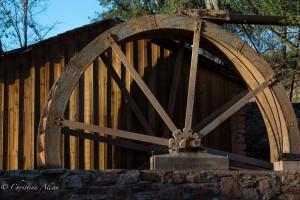 Wagon Wheel Crescent Moon Ranch