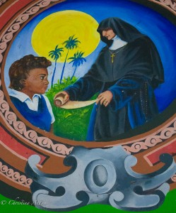 Detail at Castries Cathedral