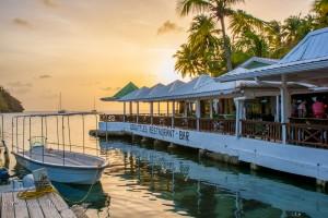 Doolittles Restaurant, Marigot Bay