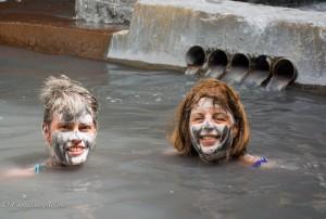 Faces at Sulphur Springs Mud Bath