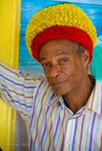Man at Super J Market