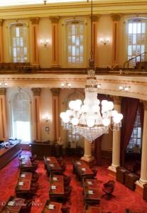 Chandelier Senate Chamber