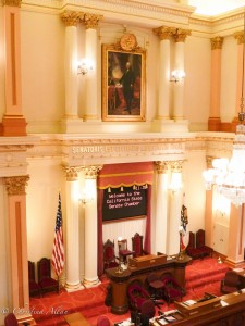 Cornice Senate Chamber