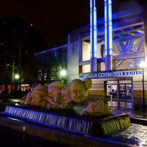 Convention Center Fountain