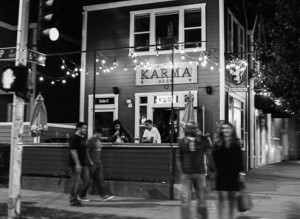 Karma Brew at Night