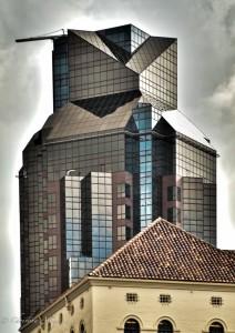 """""""Darth Vader"""" (Renaissance Building)"""