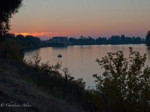 Dawn on the Sacramento River