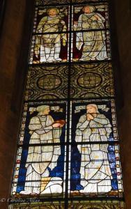 Mary Sarah Hannah Stained Glass Window women salisbury cathdral allan