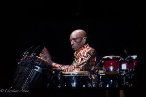 King Errisson Percussionist Neil Diamond Concert 50th Anniversary Tour Sacramento Allan
