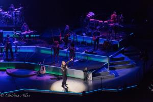 Teasing the crowd Neil Diamond Concert 50th Anniversary Tour Sacramento Allan