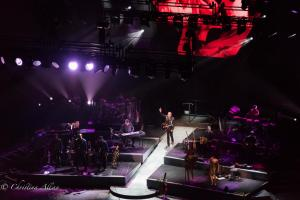 Making his entrance Neil Diamond Concert 50th Anniversary Tour Sacramento Allan