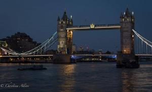 Tower Bridge Night london allan