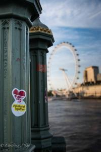 We stand together sticker london eye allan