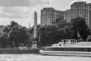 Cleopatra's Needle Obelisk London Allan