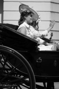 Princess Eugenie of York Royal Processions trooping the colour queen's birthday parade london allan