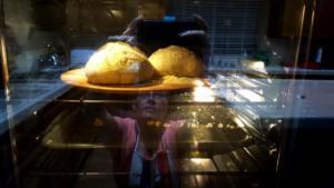 Baking Break Allan Sacramento Reflection