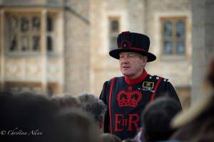 Beefeater Phillips tour group Tower of London Allan