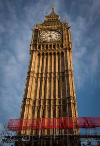 Big Ben with scaffolding london allan