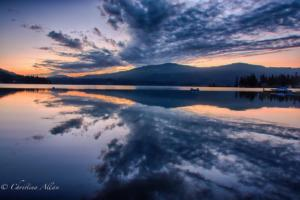 dawn-lake whatcom-washington-allan