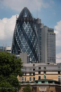 Gherkin Skyscraper 30 St. Mary Axe London Allan